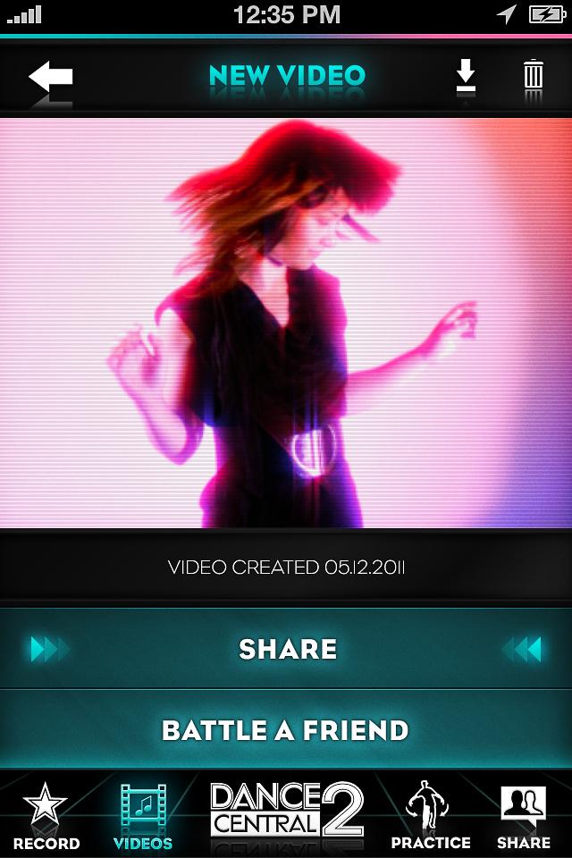 DANCE CENTRAL 2 : DANCE*CAM screenshot 3