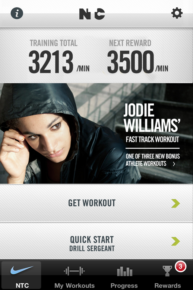 Nike+ Training Club screenshot #1