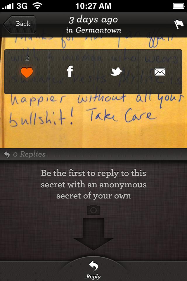 PostSecret screenshot 4