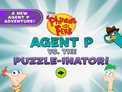 Phineas and Ferb: Agent P Vs. The Puzzle-Inator image #1