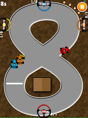 8 Player 8-bit Racing screenshot 7