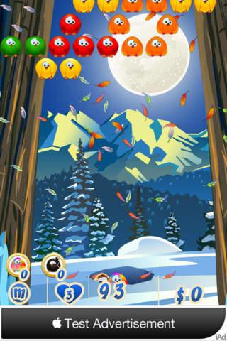 Bubble Birds 2 Christmas screenshot 3