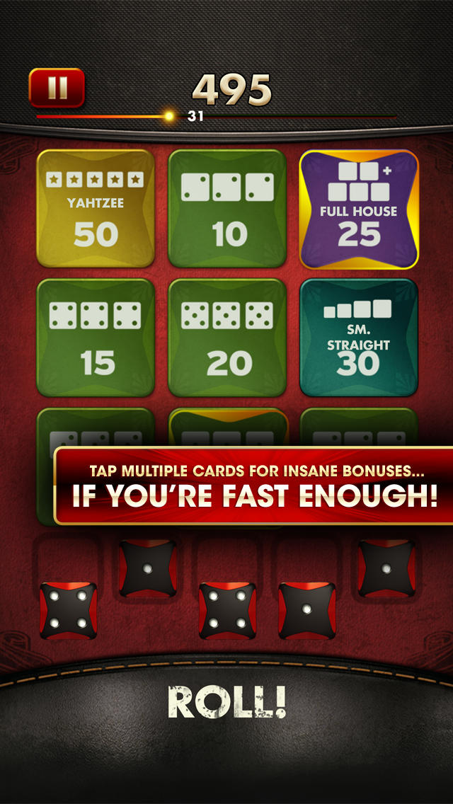 World Series of YAHTZEE Free screenshot 2