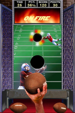 Arcade QB Pass Attack™ Football Free screenshot 3