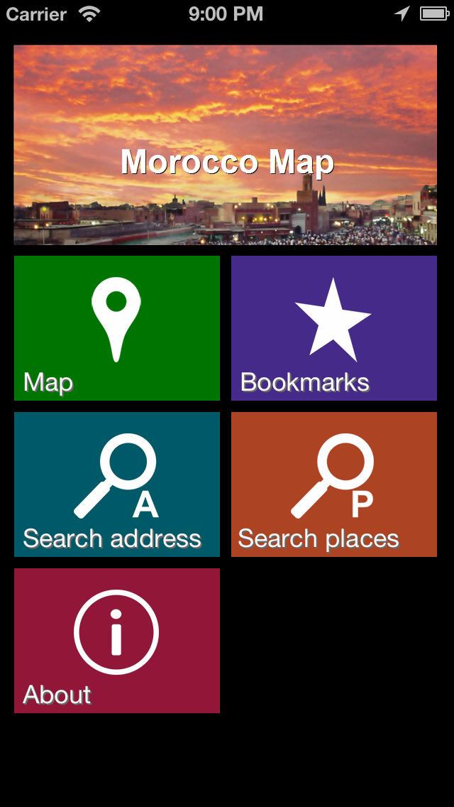 Offline Morocco Map - World Offline Maps screenshot 2