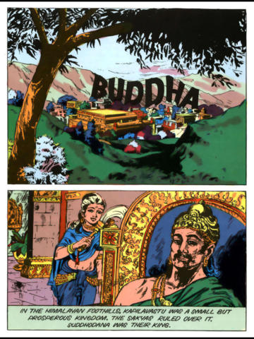 Buddha (The Enlightened One) - Amar Chitra Katha screenshot 6