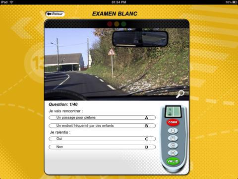 Réussir le Code de la Route CLASSIC screenshot 6