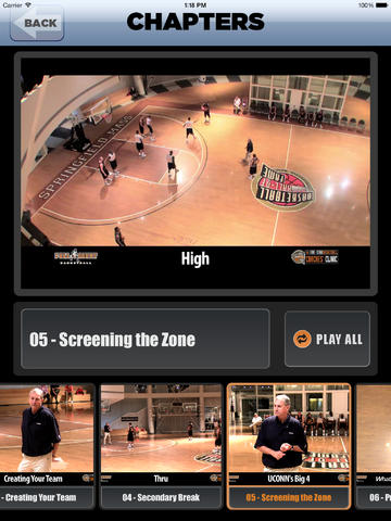 Winning Basketball: Championship Coaching - With Coach Jim Calhoun - Full Court Basketball Training Instruction - XL screenshot 4