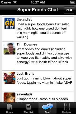 Super Foods Shopping List & Recipes screenshot 5