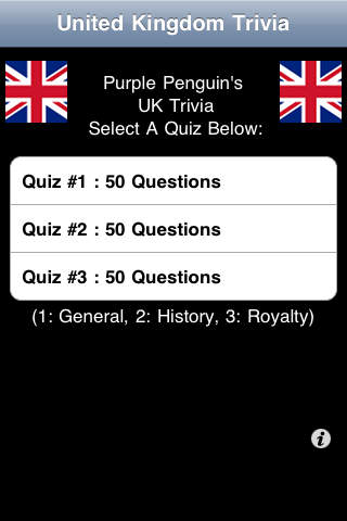 UK Trivia - FREE screenshot 1