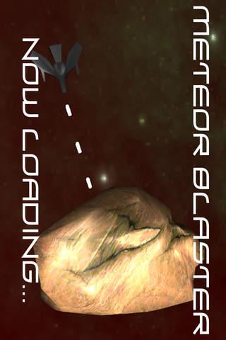 Meteor Blaster - Free classic arcade shooter screenshot 1