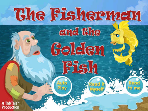 The Fisherman and the Golden Fish - Interactive story book screenshot 6