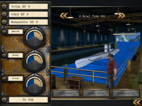 Silent Hunter HD screenshot 2