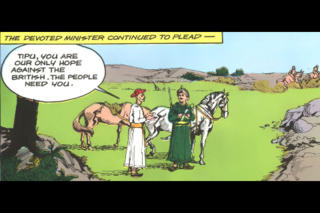 Tipu Sultan-The Mysore Tiger -  Amar Chitra Katha Comics screenshot 4