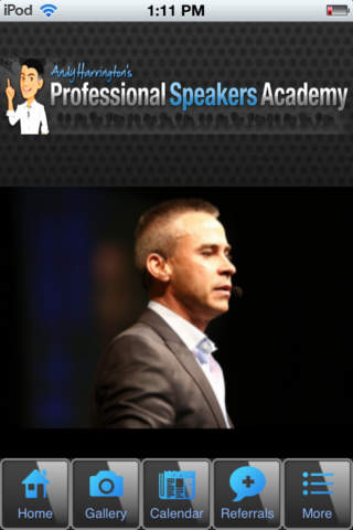 Professional Speakers Academy - náhled