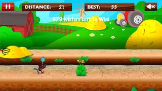 Turkey Birds Run : Free Thanksgiving Running Game screenshot 1