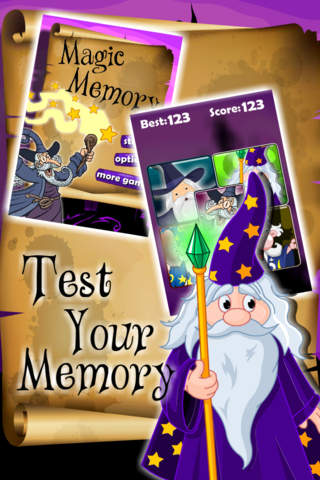 Magic Memory Mania screenshot 2