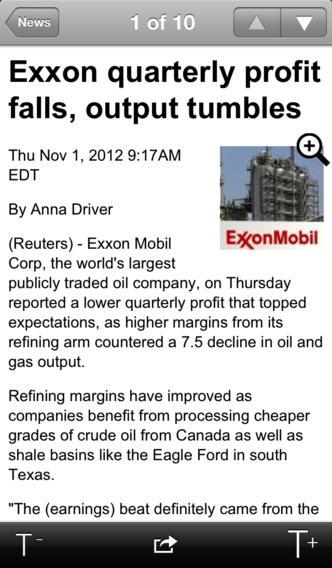Thomson Reuters News Pro screenshot #2