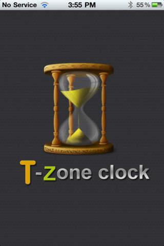 T-Zone Clock screenshot 1