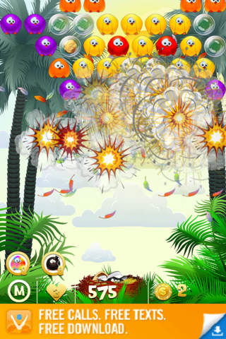 Bubble Birds HD 2.0 screenshot 5
