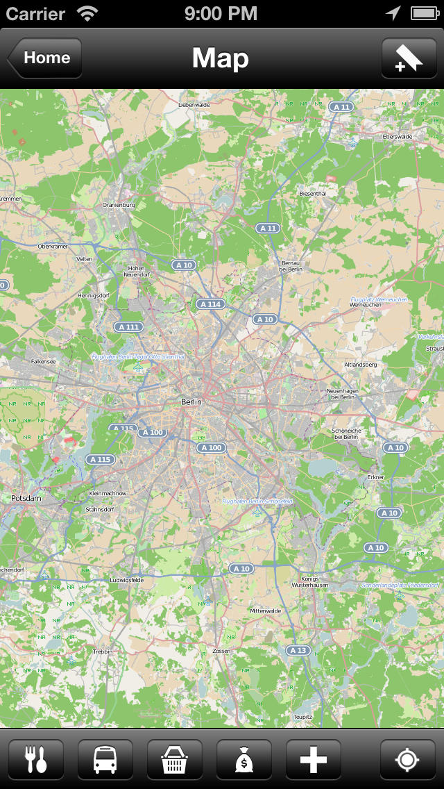 Offline Berlin, Germany Map - World Offline Maps screenshot 3