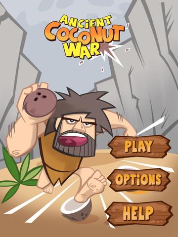 Ancient Coconut War Lite screenshot 6