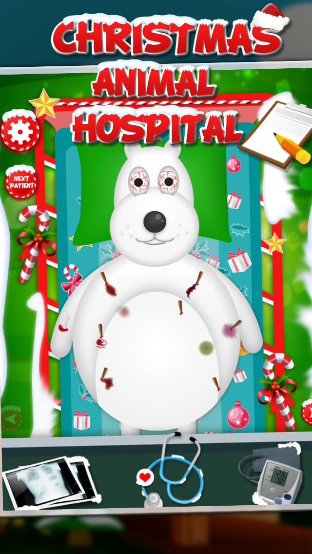 Christmas animal hospital screenshot 4