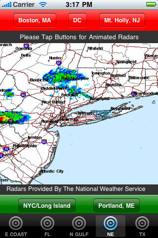 Hurricane Radars screenshot 4