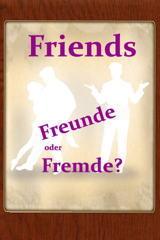 Friends: Freunde oder Fremde? screenshot 1