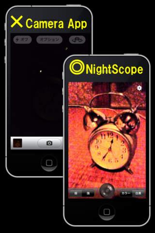 NightScope - náhled