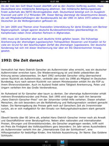 Hans-Dietrich Genscher Ein Leben für die Politik screenshot 8