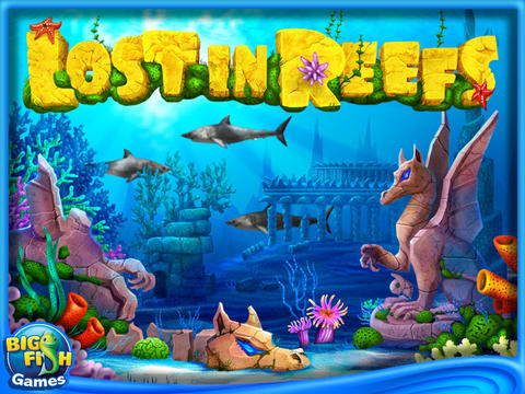 Lost in Reefs HD (Full) screenshot #1