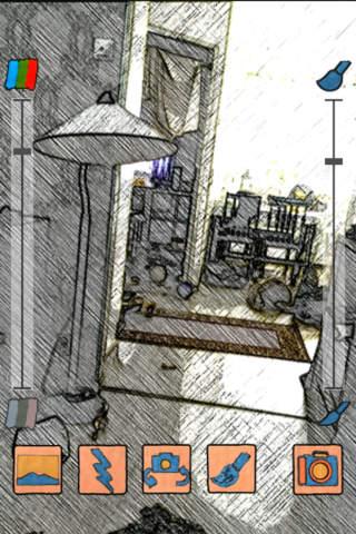 Cartoon Camera FREE by Fingersoft screenshot 1