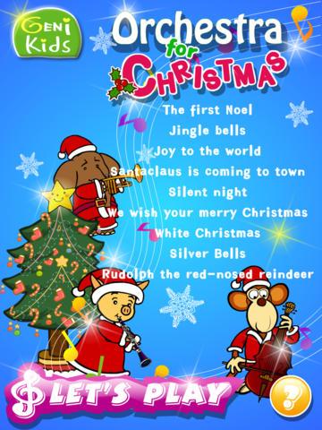 Genikids Christmas Carol for iPad screenshot 1