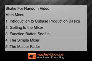 Course For Cubase 6: Production Basics screenshot #3