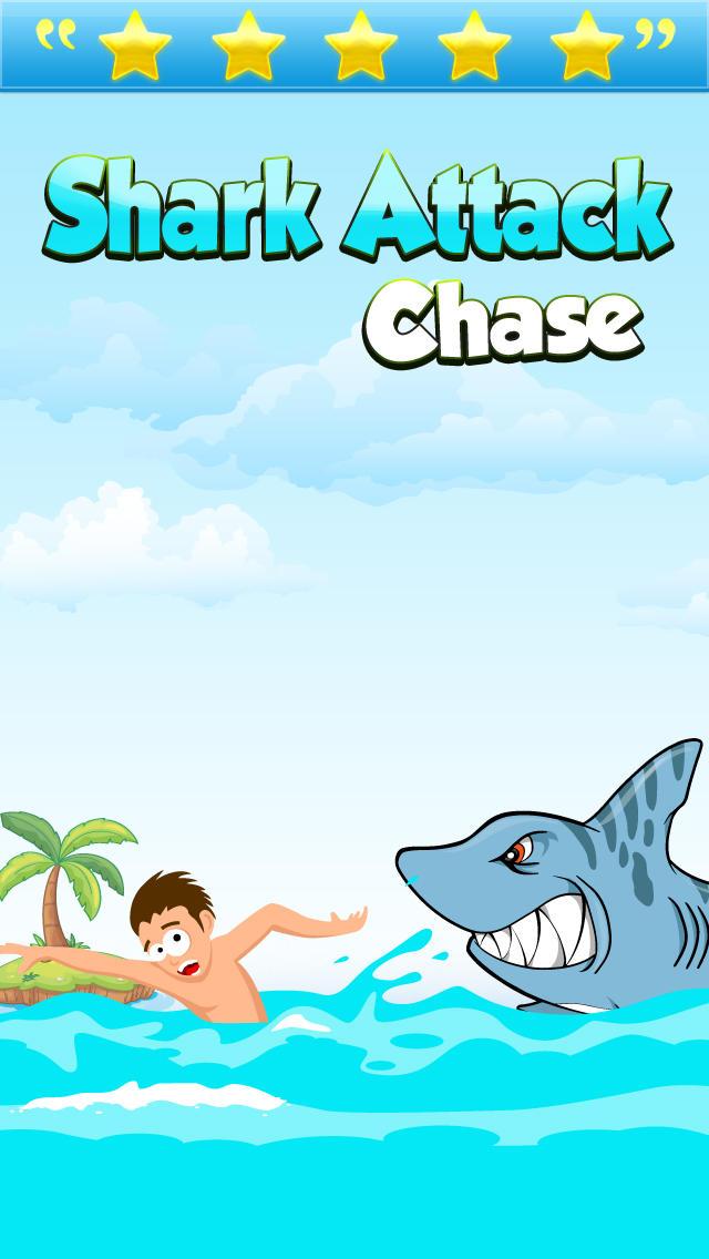 Shark Attack Chase Pro screenshot 1