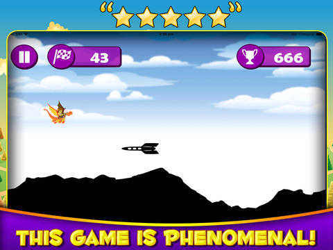 Dragon Messenger - A Flying Dragon Adventure Game screenshot 5
