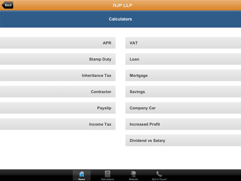 RJP LLP screenshot #3