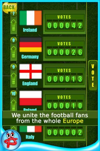 Fortune FootBALL: EURO 2012 screenshot 4