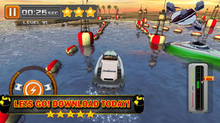 Ace 3D Boat Parking PRO - Full Throttle Simulator Driving Games Version screenshot 5