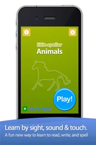 Zoo & Farm Animals by Little Speller screenshot 1