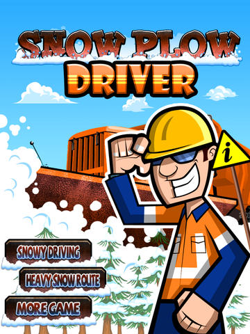 Snow Plow Truck Driver - Race The Storm! screenshot 3
