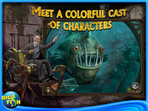Hidden Expedition 4: Devil's Triangle HD by Big Fish screenshot #3