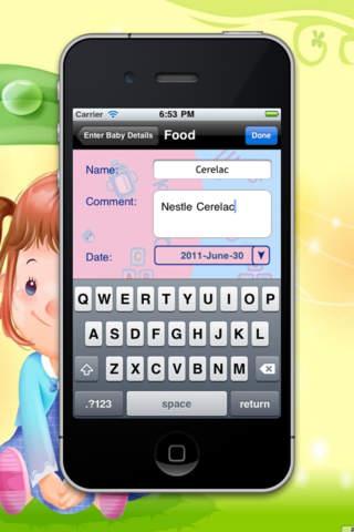 Baby Book HD screenshot 2