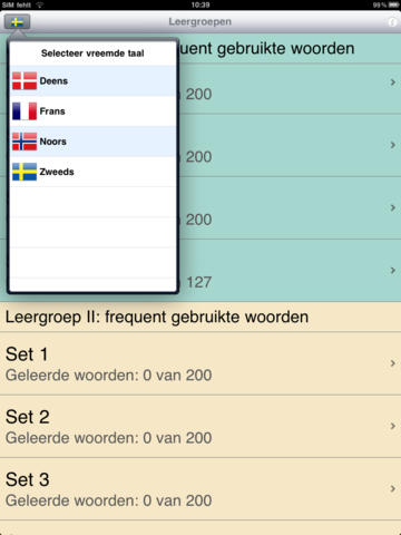 Jourist Vocabulaire Bouwer. Noord-Europa screenshot 6