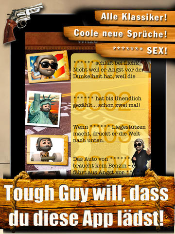 Tough Guy Witze - Der härteste Kerl der Welt screenshot 8