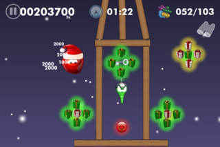Blobster Christmas screenshot 4