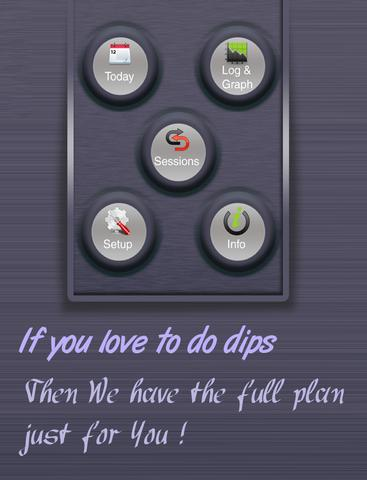 Dips Fitness Plan screenshot 7