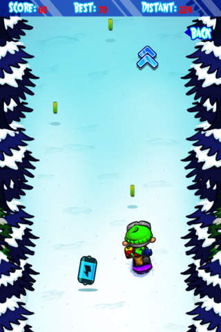 Ski Land Madness Lite screenshot 4