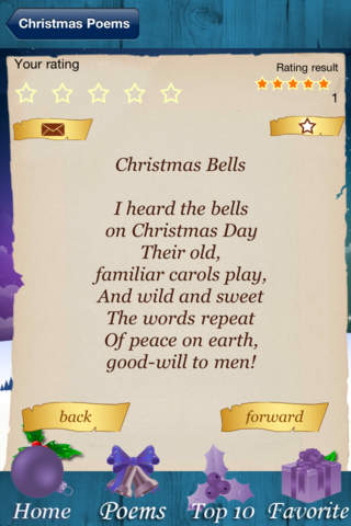 Christmas Poems - The Classic Collection screenshot 2